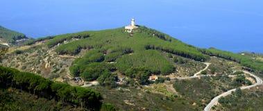 Isola del Giglio fotografia stock libera da diritti