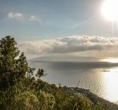 Isola del Giglio stock afbeelding