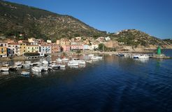 Isola del Giglio Royalty Free Stock Photography