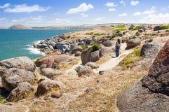 Isola del granito fotografia stock libera da diritti