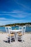 Isola del Greco di Spetses fotografie stock libere da diritti