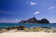 Isola del Ilheu de Baixo Fotografia Stock