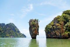 Isola del James Bond, Tailandia Immagini Stock
