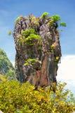 Isola del James Bond, Tailandia Immagine Stock Libera da Diritti