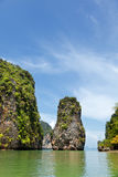 Isola del James Bond, Tailandia Fotografia Stock