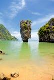 Isola del James Bond, Tailandia Fotografia Stock Libera da Diritti