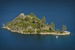 Isola del lago Tahoe Fotografia Stock