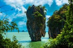 Isola del legame di Jamse - phing di khao kan Fotografie Stock Libere da Diritti