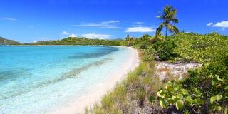 Isola del manzo - Isole Vergini Britanniche Fotografie Stock Libere da Diritti