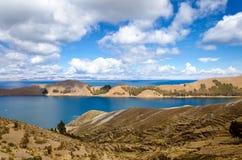 Isola del paesaggio di Sun Immagine Stock