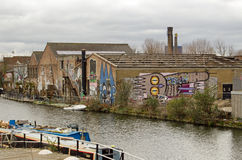 Isola del pesce, Hackney, Londra Fotografie Stock Libere da Diritti