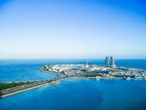 Isola del porticciolo di Abu Dhabi Immagine Stock Libera da Diritti