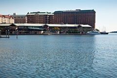 Isola del porto, Tampa Fotografie Stock Libere da Diritti