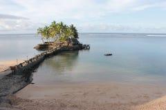Isola del ristorante Fotografia Stock
