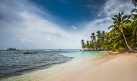 Isola del San Blas Fotografie Stock Libere da Diritti