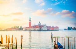 Isola del San Giorgio, Venezia, Italia fotografie stock libere da diritti