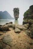Isola in del sud della Tailandia Fotografie Stock Libere da Diritti