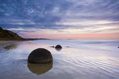 Isola del sud Nuova Zelanda di alba immagine stock libera da diritti