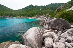 Isola del Tao del KOH Fotografia Stock