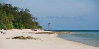 Isola dell'airone Fotografie Stock Libere da Diritti