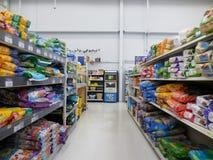 Isola dell'animale domestico di Walmart Fotografia Stock Libera da Diritti