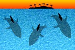 isola dell'oceano royalty illustrazione gratis