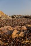 Isola dell'Oman Hallanyiat Fotografie Stock Libere da Diritti