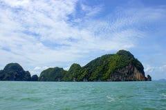 Isola della baia di andamane, Tailandia Fotografia Stock Libera da Diritti