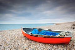 Isola della baia di Chesil di Portland Dorset fotografia stock libera da diritti