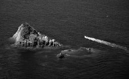Isola della Cappa, Giglio海岛,意大利 免版税库存图片