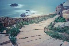 Isola della Cina Penglai fotografia stock libera da diritti