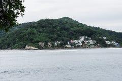 isola della città del pochat di sao vicente immagine stock
