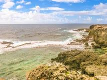 Isola della Guadalupa, i Caraibi francesi Immagine Stock