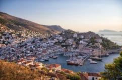 Isola della hydra, Grecia Immagine Stock