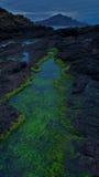 Isola della linea costiera di Skye Fotografia Stock Libera da Diritti