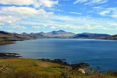 Isola della linea costiera Mull fotografia stock