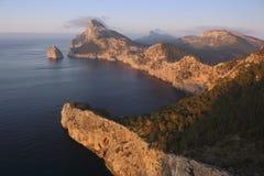 Isola della Mallorca - capo Formentor Immagine Stock Libera da Diritti