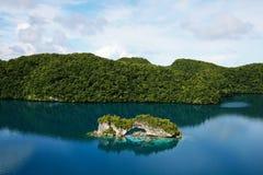 Isola della roccia Fotografia Stock