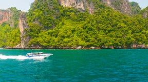Isola della spiaggia di Phuket Immagini Stock