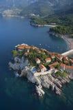 Isola della st Stefan Immagine Stock