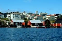 Isola della sula, Norvegia Fotografie Stock Libere da Diritti