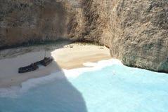 Isola della Zacinto in Grecia immagini stock