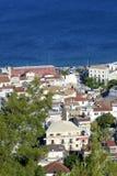 Isola della Zacinto in Grecia fotografie stock