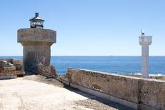 Isola delle Correnti, Capo Passero - Sicilien Royaltyfri Fotografi
