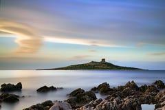 Isola Delle Femmiine Stockfotografie