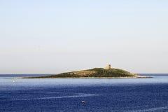 Isola delle Femmine stockfotografie