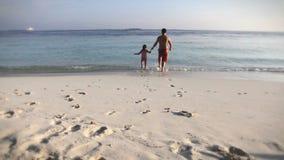 Isola delle Maldive video d archivio