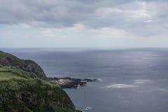 Isola di Açores l'isola verde Immagine Stock Libera da Diritti