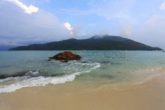 Isola di Adang Rawi, parco nazionale di Tarutao, Satun, Tailandia immagini stock