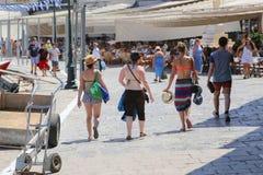 Isola di Aegina - Grecia Fotografia Stock